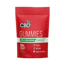 CBD Gummies ACV 40mg (8ct Pouch) - Health City