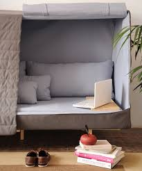 Contemporary Couch Bed Tumblr Orwell Sofa A Private Urban Fort In Innovation Design