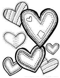 Printable Love Coloring Pages Love Heart Coloring Pages Best Free