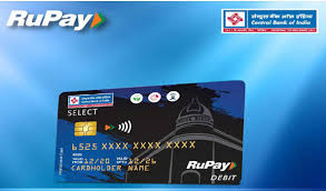 central bank of india launches rupay