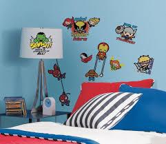 Marvel Superhero Bedroom Marvel Superhero Kawaii Art Wall Decalsjpg