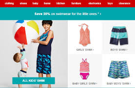 Target Apparel Deals! 20% Off Kids Swimwear & More! - Coupon Connections