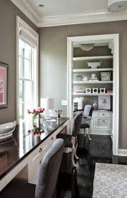 home office wall color. Office Wall Color Ideas Home Long Built In Table Against The Window Side South