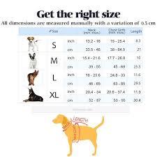 Rabbitgoo Dog Harness Size Chart Rabbitgoo Front Range Dog Harness No Pull Pet Harness