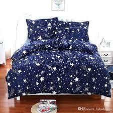 monster high bedding set queen bed sets twin meteor shower stars blue bedding set soft polyester