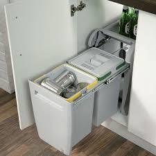Image Kitchen City Pullout Waste Bin 2x 12 Litre Cp Kitchen Components Hafele 40cm City Pullout Waste Bin 2x 12 Litre