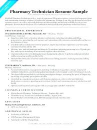 Pharmacy Tech Resume Template Pharmacy Technician Skills Resume Thrifdecorblog Com