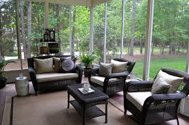 covered porch furniture. finest screened porch furniture arrangements covered h