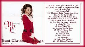 Mariah Carey Merry Christmas Full Album - Best Christmas Songs by Mariah  Carey - YouTube