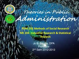 theories in public administration