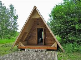 Small Picture Cute Small House Designs with Gable Roofs and Triangular A Frames