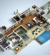 house floor plans 3d floor plan modern house designs and floor