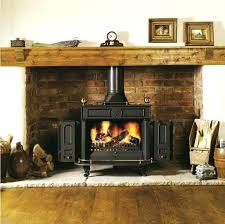 convert gas to wood burning fireplace popin in