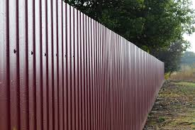 Modern Corrugated Metal Fence Modern Corrugated Metal Fence