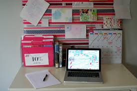 Desk Organization My Well Dressed Life Tips For Keeping Your Desk Top Organized