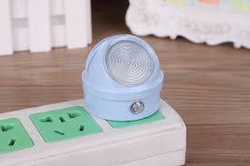 Electric Night Light Lamp China Electric Control Wall Socket Light Sensor Bedroom Lamp