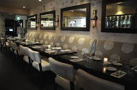 Private Dining Hospitality Interior Design of Bellini Ostaria Bar and Lounge,  Los Angeles