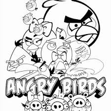 angry birds coloring pages free coloring pages 2187721