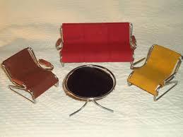 dollhouse modern furniture. vintage mid century modern eames furniture dollhouse miniature sample modern