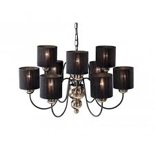 garbo large bronze black ceiling light