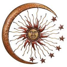 sun moon stars wall art