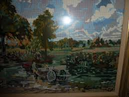 large tapestry of the haywain by conle