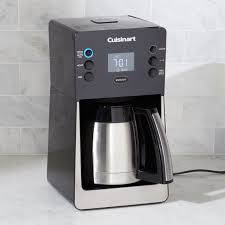 cuisinart perfectemp 12 cup programmable coffee maker with thermal carafe crate and barrel