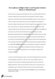 pop culture essay essay popular culture vs high culture close study on dracula