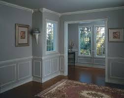 chair rail in a house