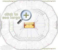 Louisville Palace Seating Chart End Stage Kfc Yum Center Seat Row Numbers Detailed Seating Chart