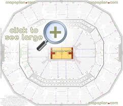 Yum Center Seating Chart Women S Basketball Kfc Yum Center Seat Row Numbers Detailed Seating Chart