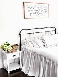 farmhouse white bedding ideas old