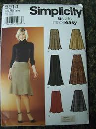 Womens Skirt Patterns