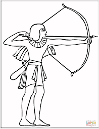 Small Picture Egyptian With Bow coloring page Free Printable Coloring Pages