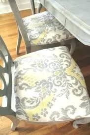 fabric material for dining room chairs chair ideas paint with best to cover kitchen top