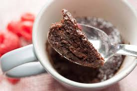 Microwave Eggless Chocolate Mug Cake Without Butter Recipe A