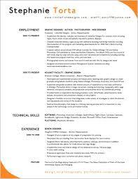 Example Of Good Resume Resumes Template Curriculum Vitae Pdf Best