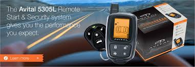 avital home car alarms remote starters smartstart the avital 5305l remote start and security system gives you the performance you expect