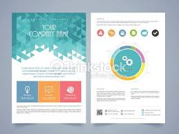 Two Page Brochure Template Cool 2 Page Brochure Design Two Page Flyer Brochure Or Template 2