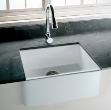 fireclay farmhouse sink. Tulip-Fireclay-Farmhouse-Kitchen-Sink Fireclay Farmhouse Sink