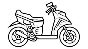 Tuyển chọn tranh tô màu xe máy cho các bé tập tô trong 2021 | Xe máy, Hình  ảnh, Phương tiện