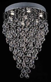 f93 815 7 crystal raindrop fixture