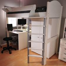 high bed with storage.  High Casa Single High Sleeper Bed With Storage Intended With A