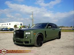 2005 Rolls Royce Phantom Custom Wald Bison Edition For Sale In Fl