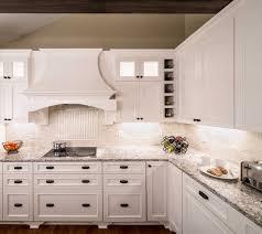 White Kitchen Countertops And Backsplash White Kitchen Cabinet