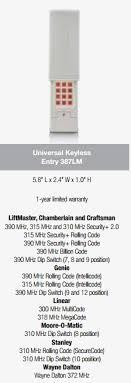 liftmaster model 387lm universal
