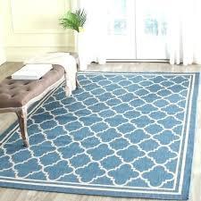 target outdoor rug blue beige trellis indoor outdoor rug target target opalhouse round outdoor rug