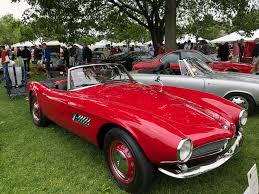 Bmw 507 At The Greenwich Concours Bmw