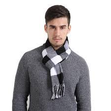 Winter <b>Scarf</b> Men Europe <b>Cotton Scarf</b> Brand <b>Shawl</b> Wrap Knit ...