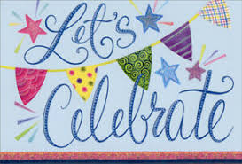 Celebrate Banner Details About Pictura Lets Celebrate Banner Nicole Tamarin Patchwork Birthday Card